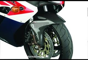Picture of POWERBRONZE CARBON FRONT MUDGUARD CBR1000 04-